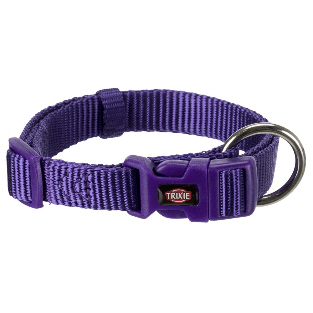 Trixie TR-201521 Premium collar size S - M. purple color. for dog. Necklace