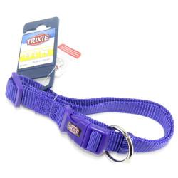Trixie TR-201621 Premium collar size M-L . color purple. for dog. Necklace