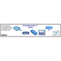 Jardiboutique KPISCINE01 Pool maintenance kit n°1 - 5 pieces. Maintenance equipment
