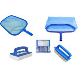 KPISCINE01 Jardiboutique Kit entretien piscine n°1 - 5 pièces. Equipos de mantenimiento