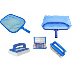Jardiboutique KPISCINE01 Pool maintenance kit n°1 - 5 pieces. Maintenance equipment