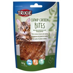 Trixie TR-42742 Chicken bites with catnip 50 gr for cats Nourriture