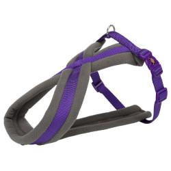 Trixie harnais touring. taille S-M. couleur violet. pour chien. TR-203821 harnais chien