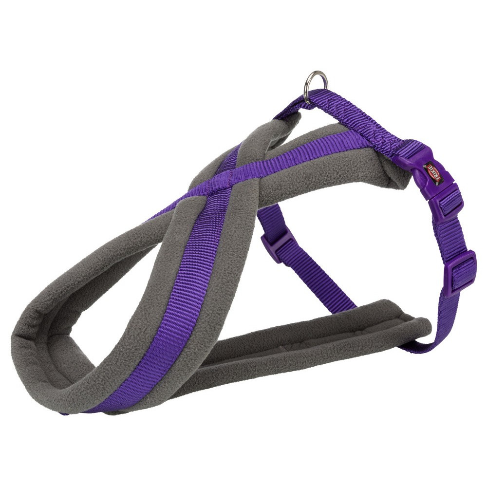 Trixie TR-203821 touring harness. size S-M. purple color. for dog. dog harness