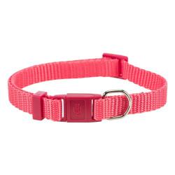 Trixie TR-41742 Premium cat collar. Coral color. collier laisse cage