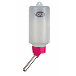 Trixie un biberon de 100 ml en plastique avec support métal. pour Hamsters ou gerbilles. coloris aléatoires. TR-6052 Gamelles...