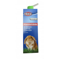Trixie TR-6050 a plastic bottle 600 ml. with metal support. for rabbits . random colors. Bowls, distributors