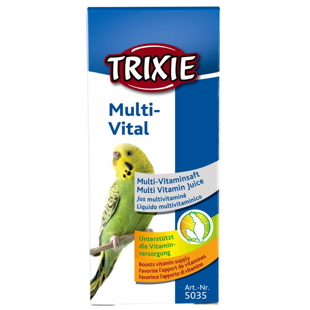 Multi-Vital 50ml oiseaux Soin et hygiène  Trixie TR-5035