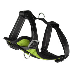 Flamingo FL-519145 Snowy Harness size M. green color. adjustable from puppy to adult. for dogs dog harness