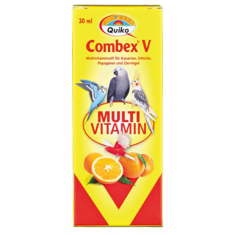 jus multivitaminé Combex V pour oiseaux 30 ml Soin et hygiène  Trixie TR-50651
