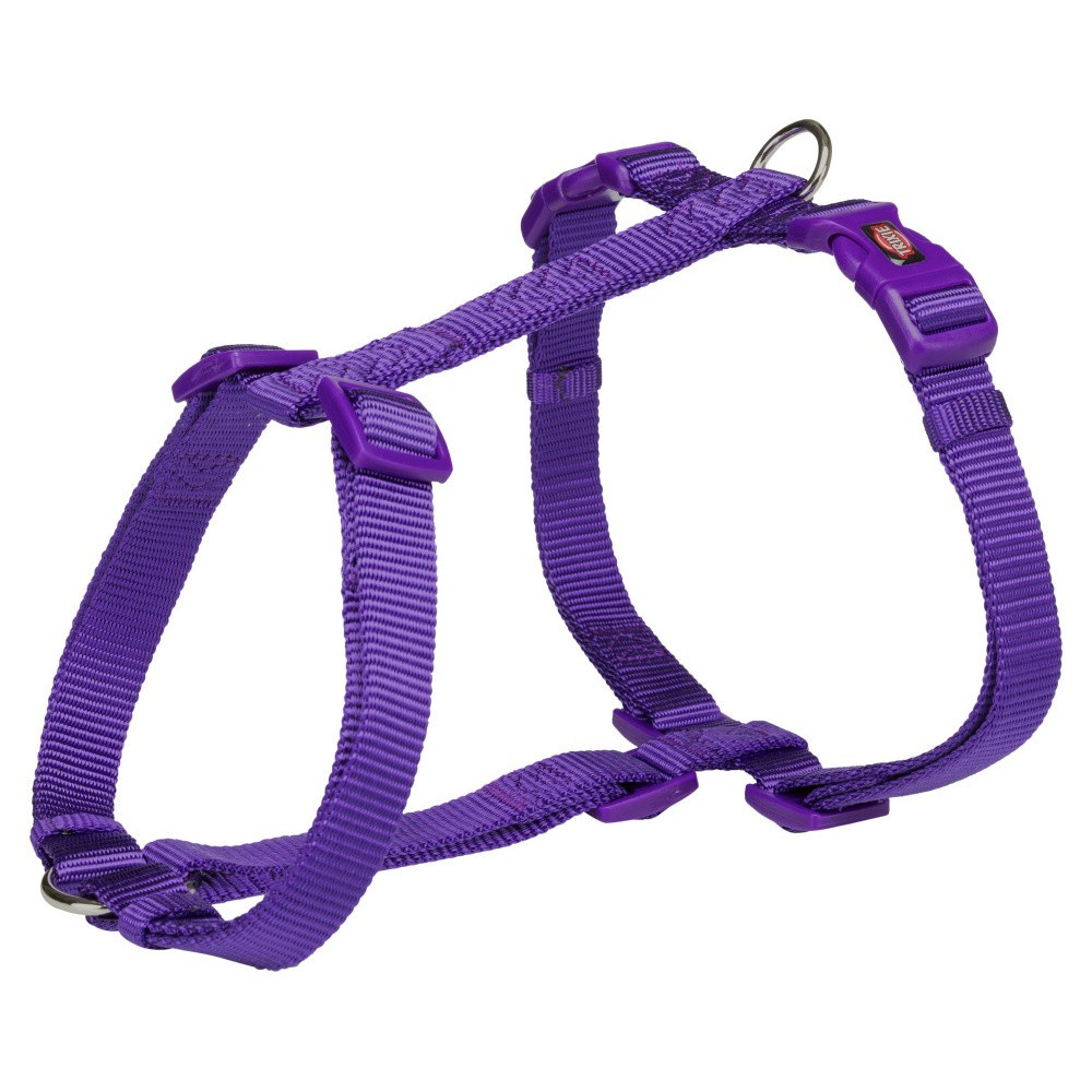Trixie harness size XS-S. H-shape, colour purple. for dog, dog harness