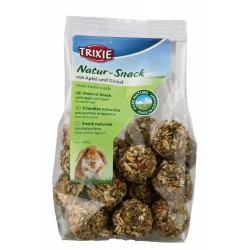 TR-60312 Trixie manzanas en bolas de escanda para roedores 140 gr Comida y bebida