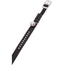 Flamingo Collier taille 30 cm x 11 mm. couleur noir . avec strass et clochette. pour chat FL-67680 Halsband, Leine, Gurtzeug,...