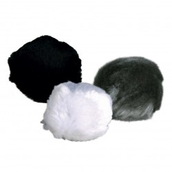 Trixie set of 3 plush balls for cats Games
