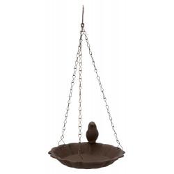 Abreuvoir/mangeoire ou baignoire oiseau en fonte a suspendre TR-55502 Mangeoires , abrevoir