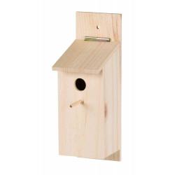 Trixie Bausatz zum Bau eines hölzernen Nistkastens für Ihre Vögel TR-55641 Käfige, Volieren, Nistkästen