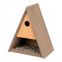 Trixie Mangeoire et Nichoir en bois pour vos oiseaux TR-55905 Mangeoires , abrevoir