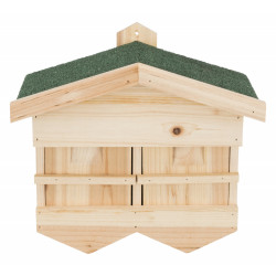 Trixie TR-55909 Nichoir pour moineaux 33 x 30 x 21 cm Cages, aviaries, nest boxes