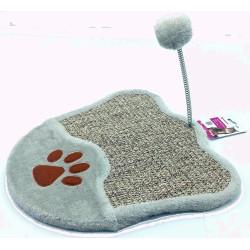 Flamingo Pet Products Greta Kratzbaum 34,5 x 34,5 cm Katzenpfotenform. für Katzen FL-560879 Kratzer und Schaber