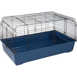 Flamingo FL-201876 rabbit cage. 100 x 57 x 54 cm. Blue sprinters. Cage