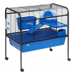 Flamingo FL-201883 Rabbit Cage 88 x 53 x 90 cm - with movable feet. for rabbit. Cage
