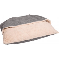 Flamingo Pet Products Cushion 100 x 70 x 15 cm. with hiding place. for dog. Dodo
