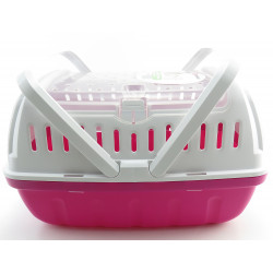 Flamingo FL-210151 Cage 26 x 40 x 23 cm.Lizzie transport cage size L. for rodents. Transport et cage