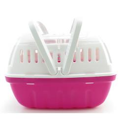 Flamingo Pet Products Cage 17 x 23 x 16 cm.cage de transport Lizzie taille S. pour rongeur. Transport