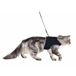 Trixie TR-41895 XXL soft harness with leash for cats. collier laisse cage