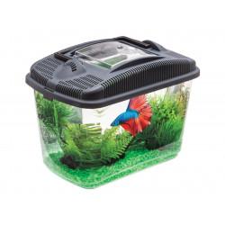 Vadigran Aquarium 3 Liter, 23,7 x 15,4 x 17,3 cm. VA-114563 Aquarien