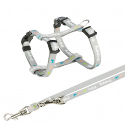 Trixie TR-15340 Junior harness for puppy with leash. Dimensions: 23-34 cm/8 mm. dog harness