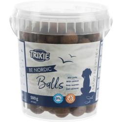 Zalmbal snack voor honden....