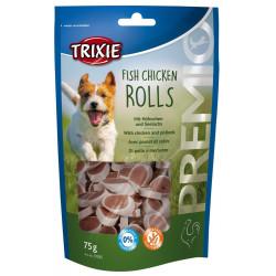 TR-31535 Trixie Pollo con caramelo de merluza para perro 75 gr Nourriture