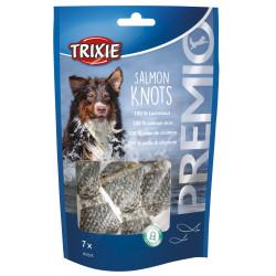 Trixie Friandise 100 % peau de saumon. pour chien. 80 g. PREMIO Salmon Knots TR-31575 Friandise chien