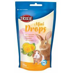 Trixie Friandises pissenlit 75 gr Mini Drops TR-60333 Snacks et complément