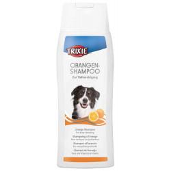 Oranje shampoo voor honden....