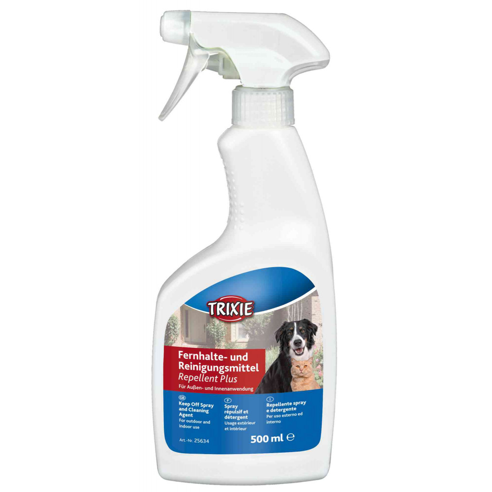 Trixie TR-25634 Repellent Spray Plus. Keeps dogs and cats away from treated areas. Chat