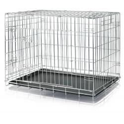 Trixie Käfig 93 x 69 x 62 cm. für Hund. Metall. Heimstätte. TR-3924 Transportkäfig