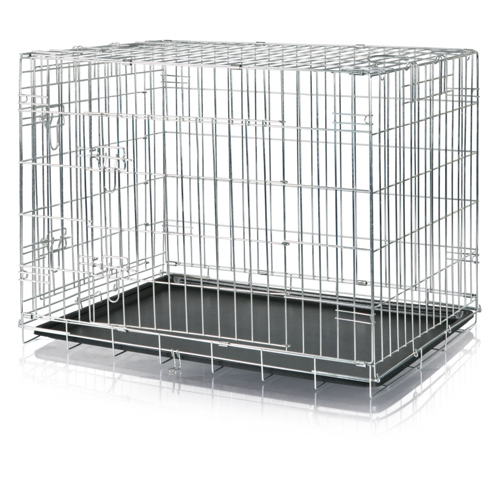Trixie TR-3924 Cage 93 x 69 x 62 cm. for dog. metal. Home Kennel. Transport cage
