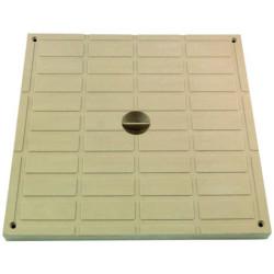 Interplast tampon léger 30 x 30 sable polypropylène SASTAPPP300S Plomberie