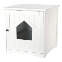 TR-40290 Trixie Refugio para gatos con caja de arena blanca. 49 x 51 x 51 cm. accesorio de cama