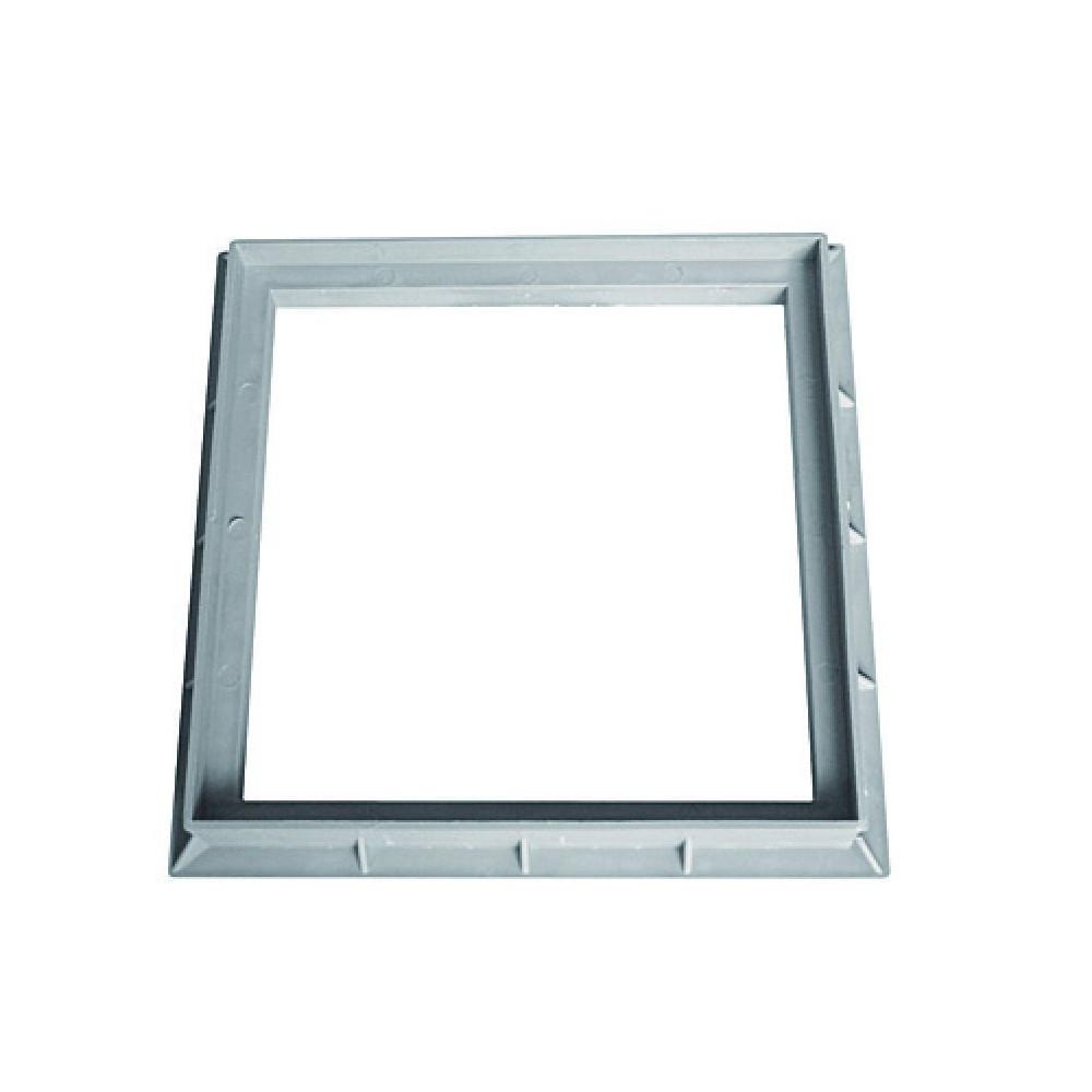 Interplast SASCADRE400G frame 40 x 40 cm grey polypropylene - INTERPLAST Plumbing