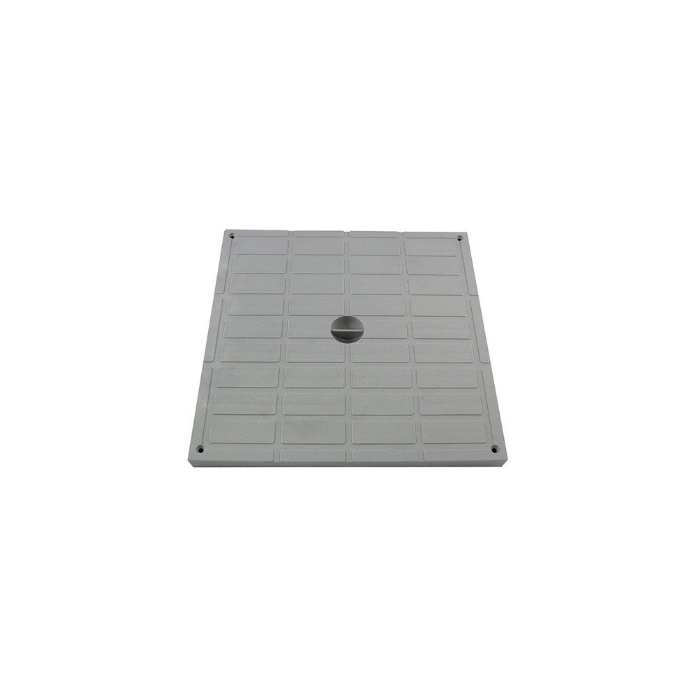 Interplast SASTAPPP400G light pad 40 x 40 cm polypropylene grey - INTERPLAST Plumbing