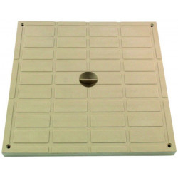 Interplast Tampon léger 40 x 40 sable polypropilène - INTERPLAST SASTAPPP400S Plomberie