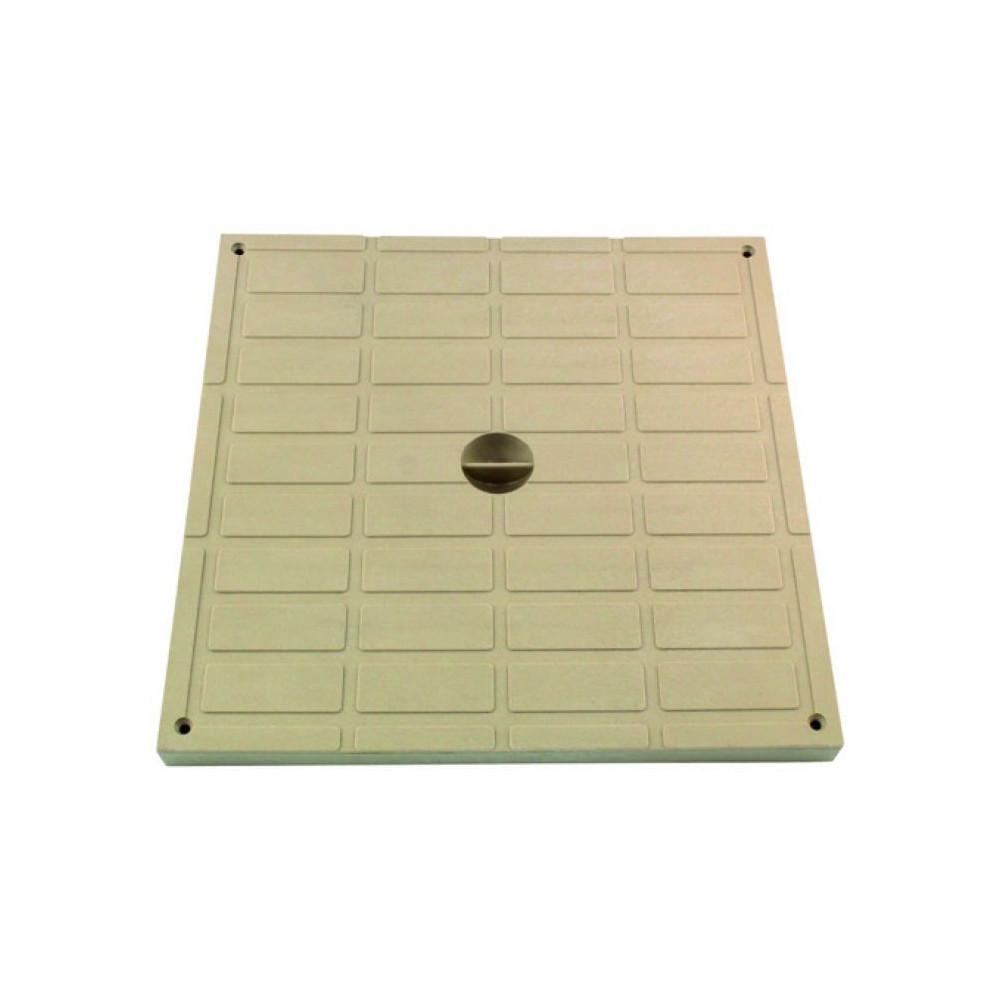 Interplast SASTAPPP400S light pad 40 x 40 polypropylene sand - INTERPLAST Plumbing