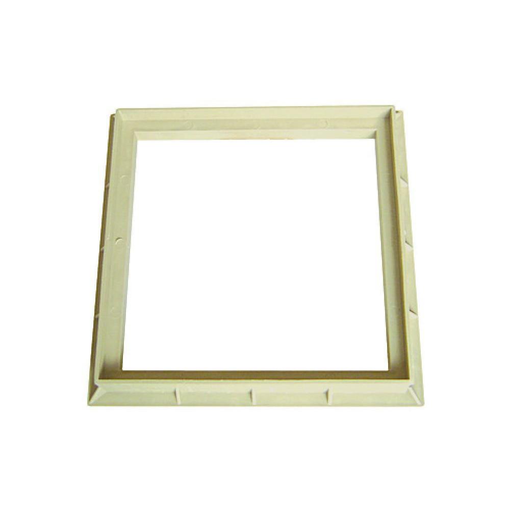 Interplast SASCADRE400S Frame 40 x 40 cm polypropylene sand - INTERPLAST Plumbing