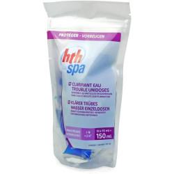 HTH Clarifiant eau trouble en unidose pour spa -HTH SPA produit de traitement SPA