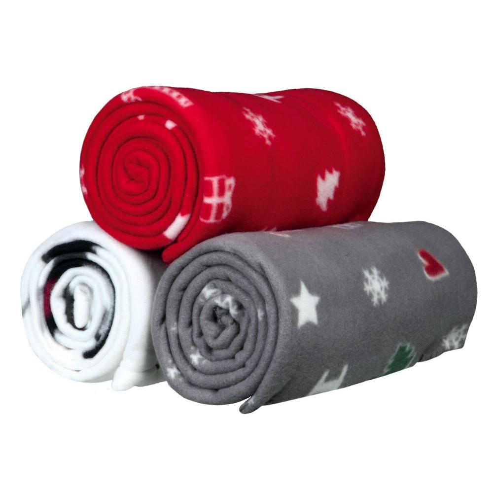 Une Couvertures polaire Yuki 150/100 cm - couleur aléatoire. Dodo Trixie TR-924682-150/100