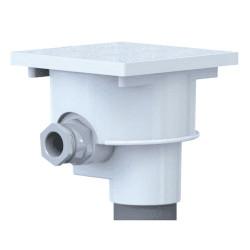 weltico weltico Strahler-Anschlussdose 63004 WEL-300-0053 Zu versiegelnde Teile