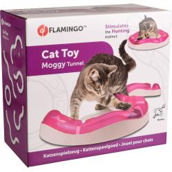 Flamingo FL-560848 Tunnel MOGGY cat game ø 38.5 cm x 7 cm x 7 cm x 7.7 cm. pink. Games